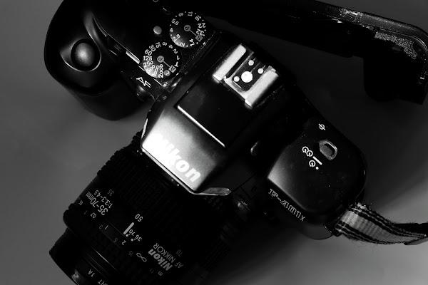 Nikon analogica di Andrea F