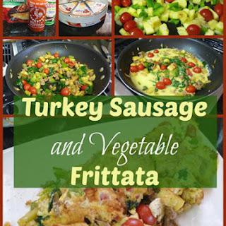 Turkey Sausage And Veggie Frittata
