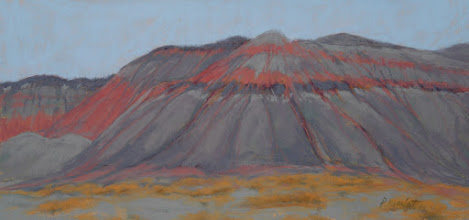 Photo: TEEPEES IN PAINTED DESERT