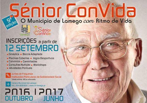 Sénior Convida em Lamego põe idosos a mexer