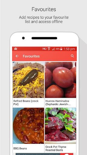 Crock Pot Slow Cooker Recipes screenshot