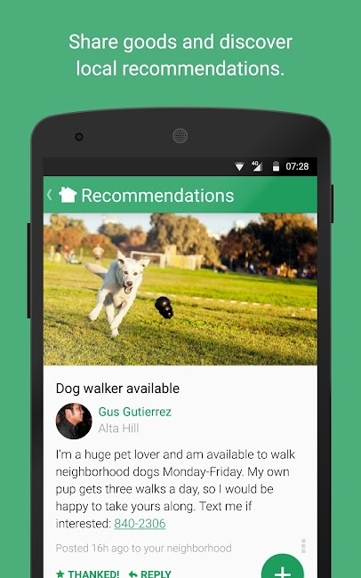 #4. Nextdoor (Android)