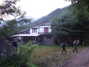 穂高平小屋を通過