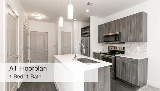 A1 Floorplan 1 Bed 1 Bath Artesia Big Creek Apartments