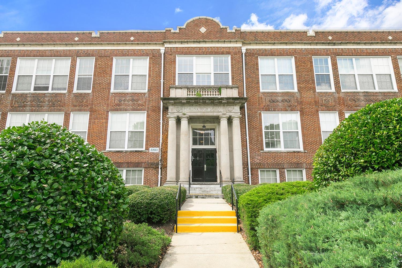 The School At Spring Garden Apartments In Greensboro