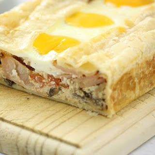 Breakfast Ricotta Slice