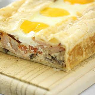 Breakfast Ricotta Slice.