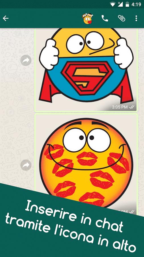 Connu Emojidom faccine WhatsApp e smile Facebook gratis - App Android su  YZ87