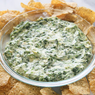 Hot Artichoke and Spinach Dip.