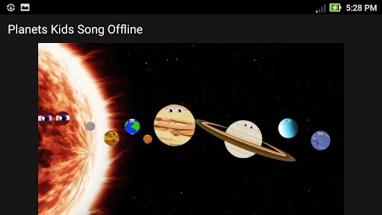 Planets Kids Song Offline - náhled