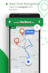 screenshot of GPS Route Finder : Maps Navigation and Directions