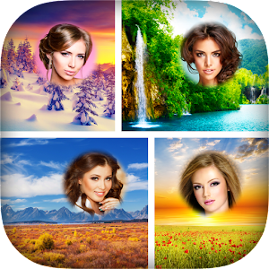 Nature Photo Collages Icon