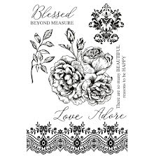 Kaisercraft Clear Stamps 6X4 - Rosabella