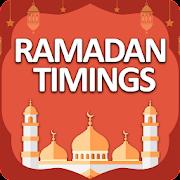 Ramadhan Calendar with Sehar & Iftar Timings 2018