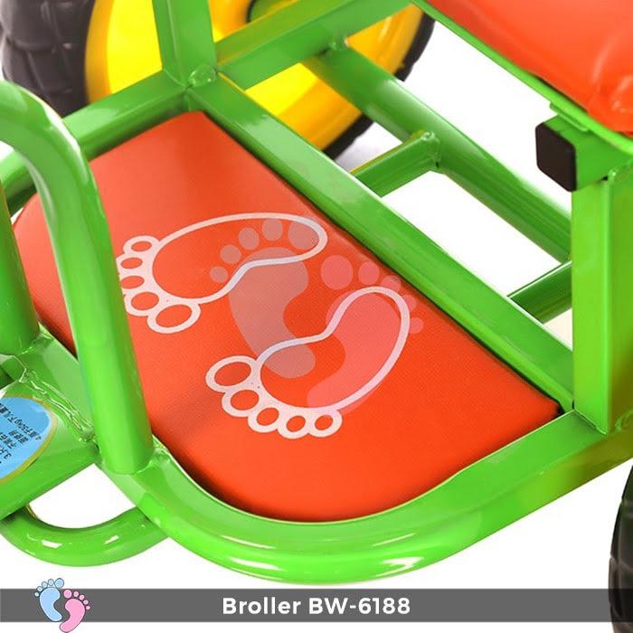 Xe đạp đẩy ba bánh Broller XD3-6188 12
