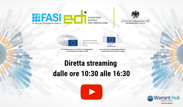 Diretta streaming - Evento Digital Europe 2021-2027