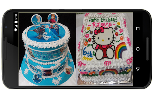 Decorative birthday cake - náhled