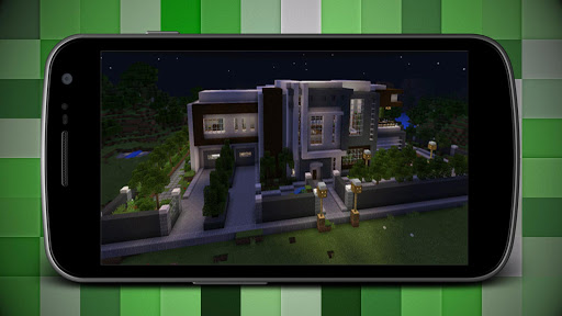 Download Modern Super Mansion House Map for MCPE Google Play