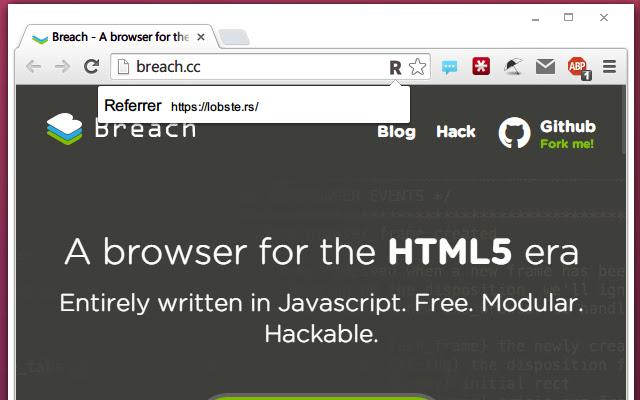 Get Referrer URL