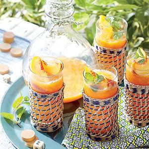 Frozen Peach Old Fashioned Recipe