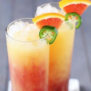 Tequila Sunrise.
