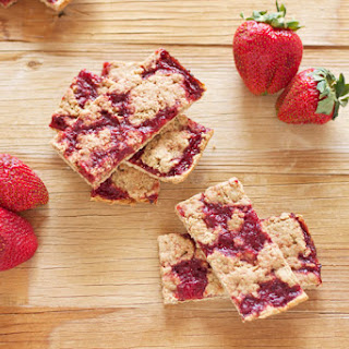 Strawberry Breakfast Bars