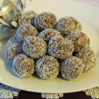 Chocolate Coconut Balls.