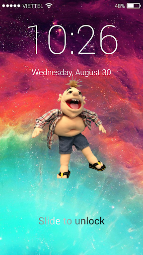 Jeffy Lock Screen 1.0 screenshots 1
