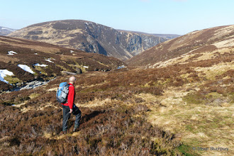Photo: Above the Falls of Damff, Glen Esk, Angus