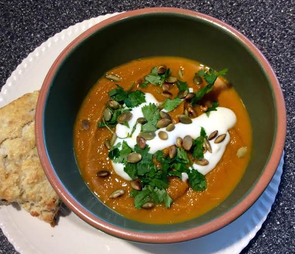 Chipotle Pumpkin Soup Recipe