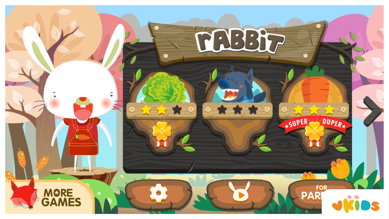 Kids Animal Game - The Rabbit- screenshot