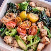 Brown Rice Bowl with Chicken