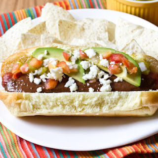 Green Chile Mole Hot Dog