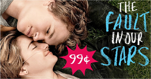 99¢ Fault in our Stars Rental!