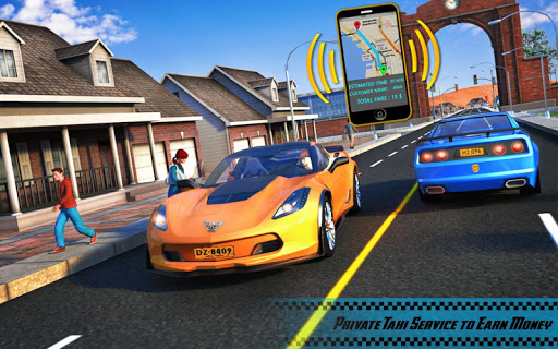 Yellow Cab American Taxi Driver 3D: New Taxi Games  screenshots 10