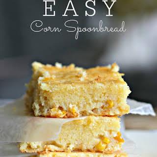 Easy Corn Spoonbread.