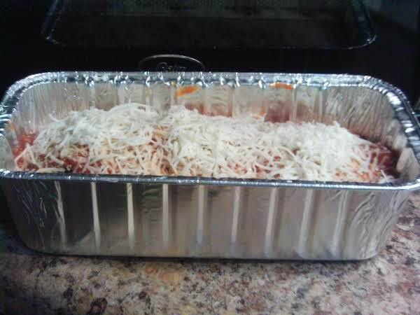Since I'm Putting This In The Feezer, I Didn't Put It In The Oven.