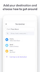 screenshot of Easy Taxi, a Cabify app