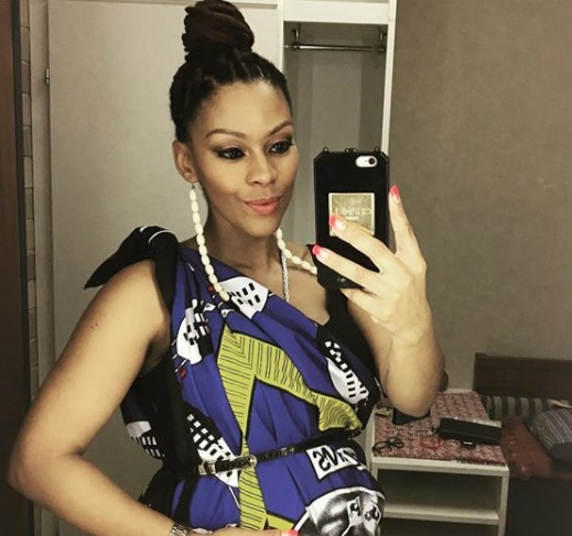 Letoya Makhene celebrated her baby shower recently.