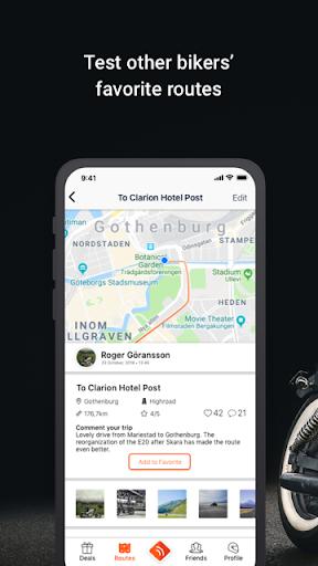 Detecht - Motorcycle GPS App screenshot 6