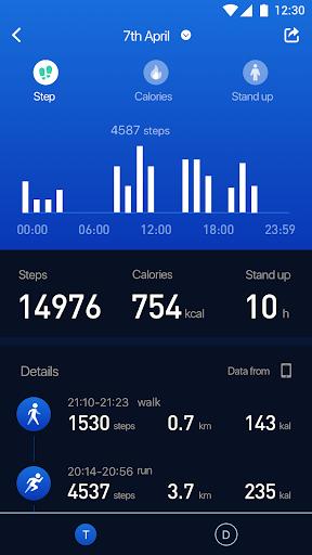 Zeroner Health Pro 6.0.0.77 screenshots 2