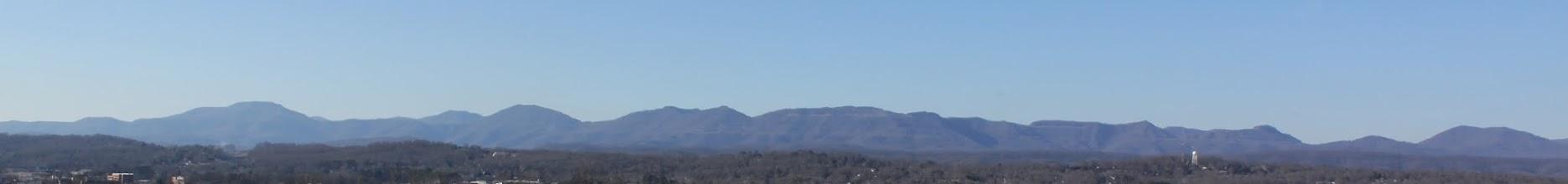Photo: Cumberland Mountains from Oak Ridge Summit