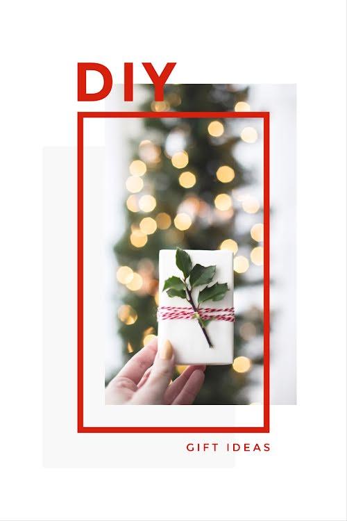 DIY Christmas Gift Ideas - Christmas Template