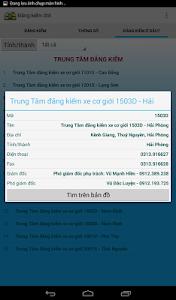 Đăng kiểm ô tô screenshot 9