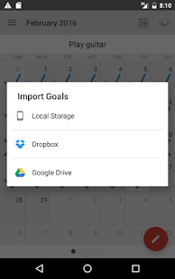 Goal Tracker & Habit List- screenshot thumbnail