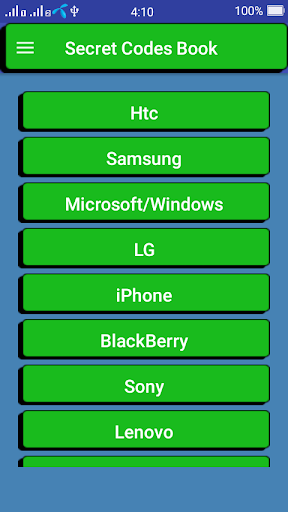 Download Secret Codes of All Phones Google Play softwares