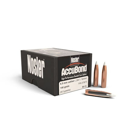 Nosler AccuBond 6.5mm/ .264 140gr 50st