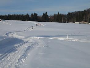 Photo: Skilanglauf im Dreiländereck - Spuren bei Bischofsreut