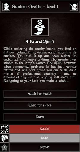 Grim Quest - Old School RPG 0.18.6 screenshots 5