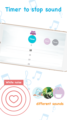 White Noise Baby: Happy NewBorn White Noise Sounds Screenshot